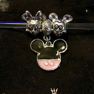 Disney's 2 favorite mice Europen charms fits all✨